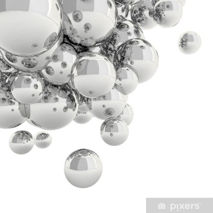 Fototapeta samoprzylepna 3d Streszczenie Spheres - Abstrakcja