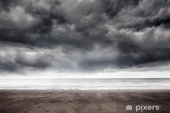 Nálepka Pixerstick Bouřlivé počasí u moře - Nebe
