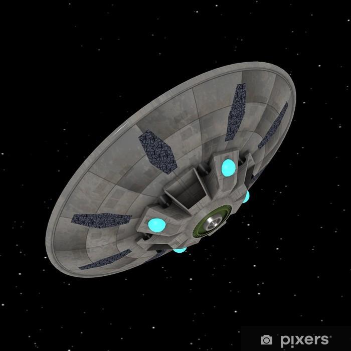 Nálepka Pixerstick Ufo - Vzduch