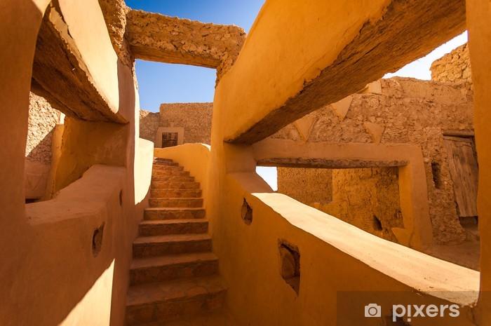 Nálepka Pixerstick Starověkých architekturu egyptských kmenů - Prázdniny