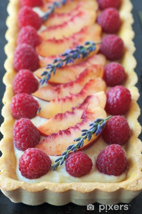 Naklejka Pixerstick Fruit tart - Posiłki