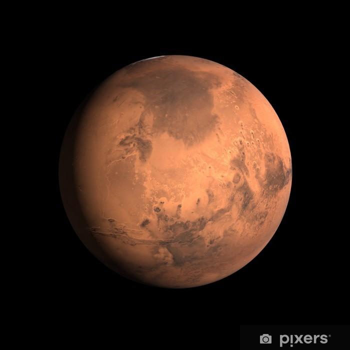 Naklejka Pixerstick Planeta Mars - Tematy