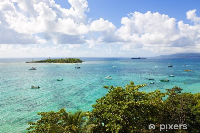 Papier peint vinyle Îlet du Gosier, Guadeloupe - Amérique