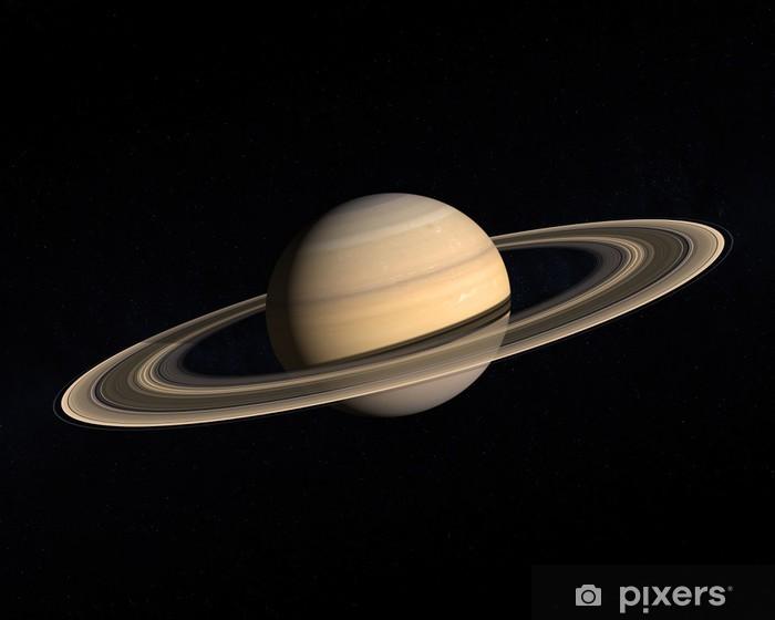 Papier peint vinyle Planete saturne - Planètes