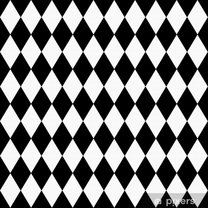Black And White Diamond Shape Fabric Background Wall Mural Pixers We Live To Change