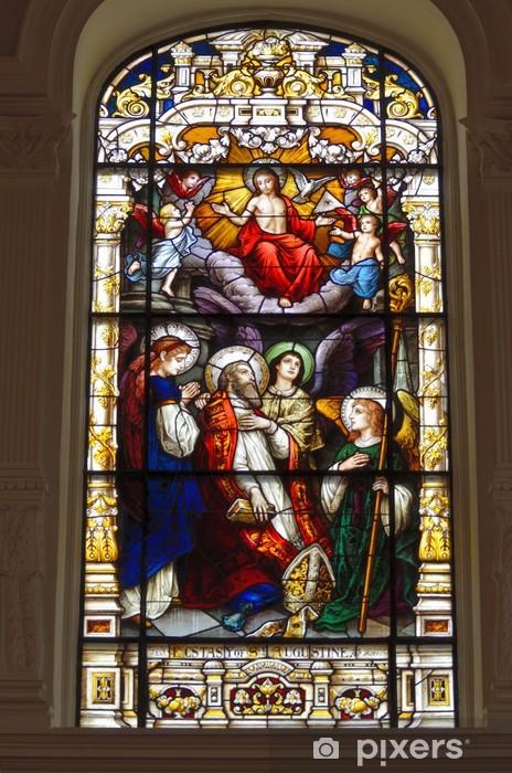Fototapeta winylowa Okno Stain Glass w Kościele - Budynki i architektura