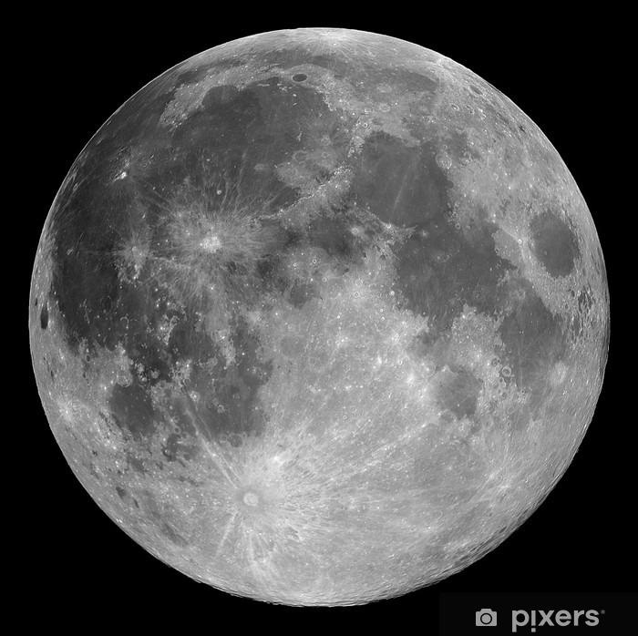 Sticker Pixerstick Pleine lune - Thèmes