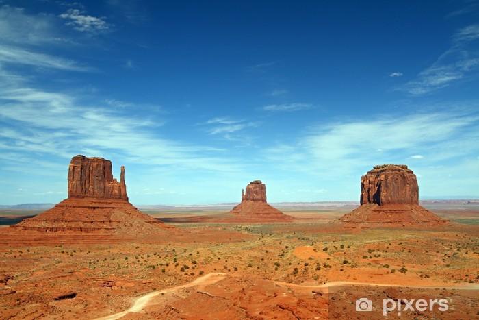 Pixerstick Sticker Monument Valley panorama - Woestijn