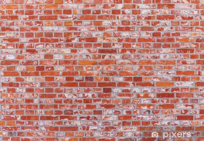Papier Peint Mur De Briques De Couleur Rouge Pixers Nous Vivons