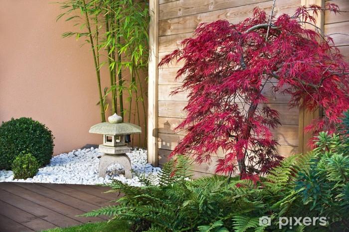 Fototapete Jardin Japonais en automne