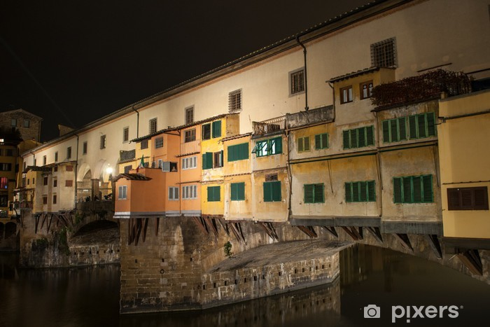 Vinyl-Fototapete Ponte Vecchio - Urlaub