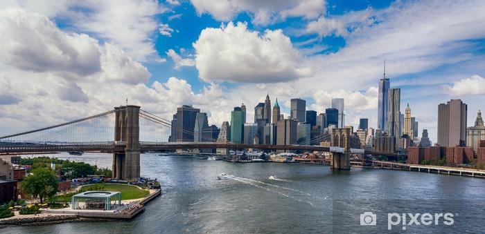 Fototapeta winylowa Nowy Jork w blasku słońca -