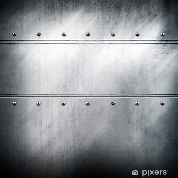 Fototapeta winylowa Tło wzór żelazo - Surowce
