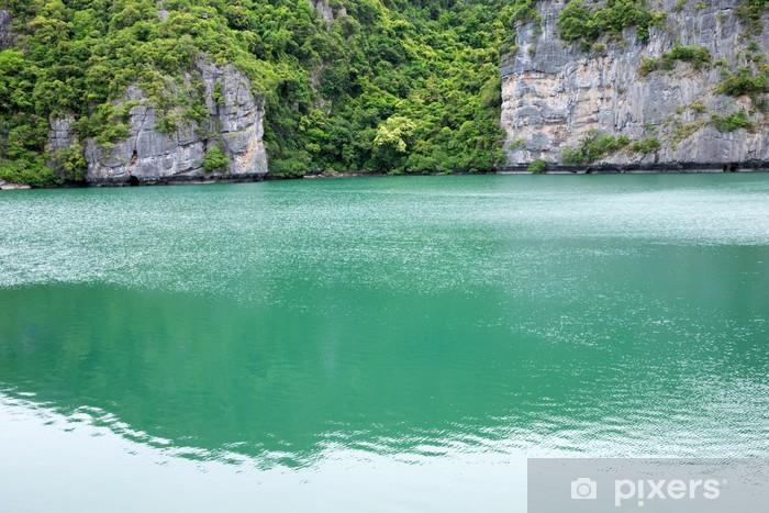 Fototapeta winylowa Laguna - Woda