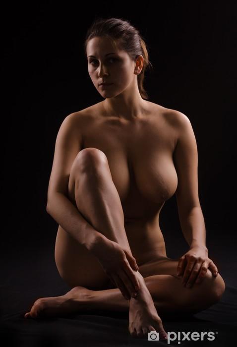 Carta da Parati in Vinile Figura di una donna nuda - Temi