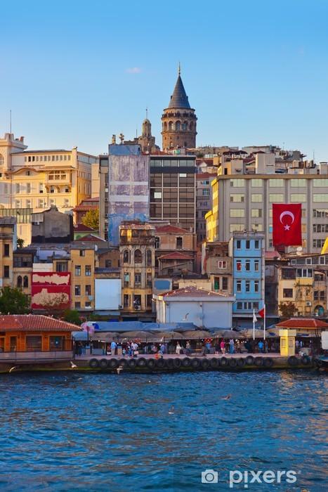 Fototapeta winylowa Stambuł Turcja na zachodzie słońca - Wakacje