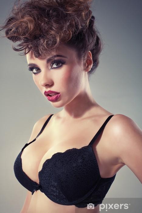 fa8d03cf2 Nálepka Pixerstick Lákavé dáma s velkým sexy rty • Pixers® • Žijeme ...