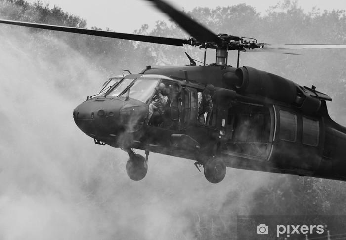 Naklejka Pixerstick UH-60 Blackhawk Helikopter - Tematy