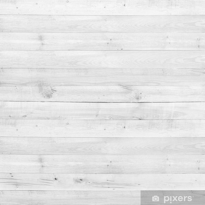 Papier peint vinyle Bois de pin planche texture blanc pour le fond - Thèmes