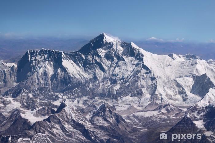 Fototapeta winylowa Mount Everest - Top of the World (z samolotu) - Tematy