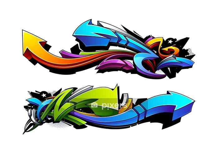 Vinilo para Pared Flechas Pintada diseños - Vinilo para pared