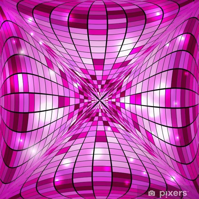 Naklejka Pixerstick Disco abstrakcyjna tła - Tła