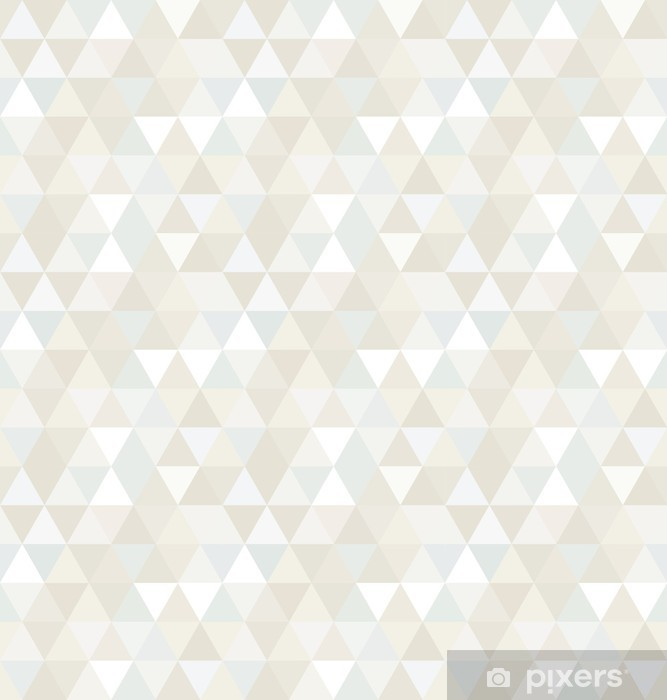 Seamless Triangle Pattern, Background, Texture Washable Wall Mural -