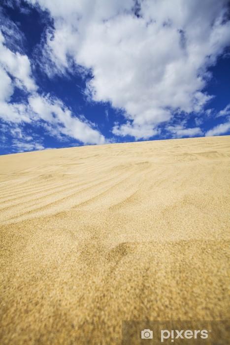 Papier peint vinyle Les dunes de sable - Désert