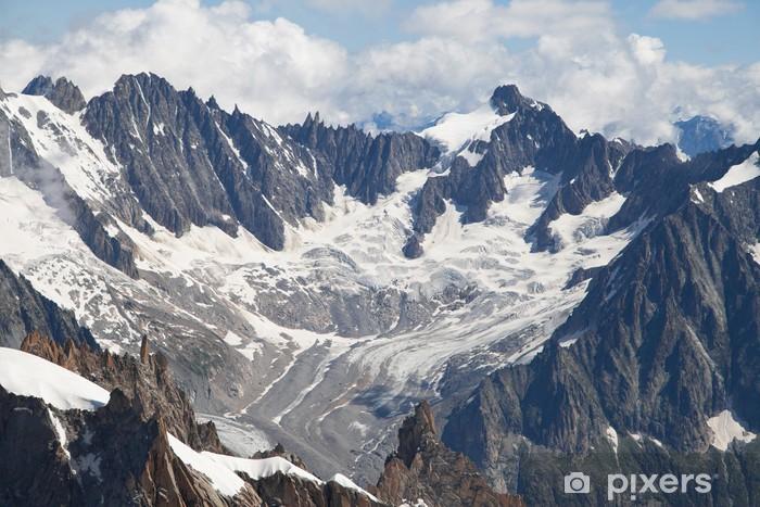 Nálepka Pixerstick Glacier de Talefre - Evropa