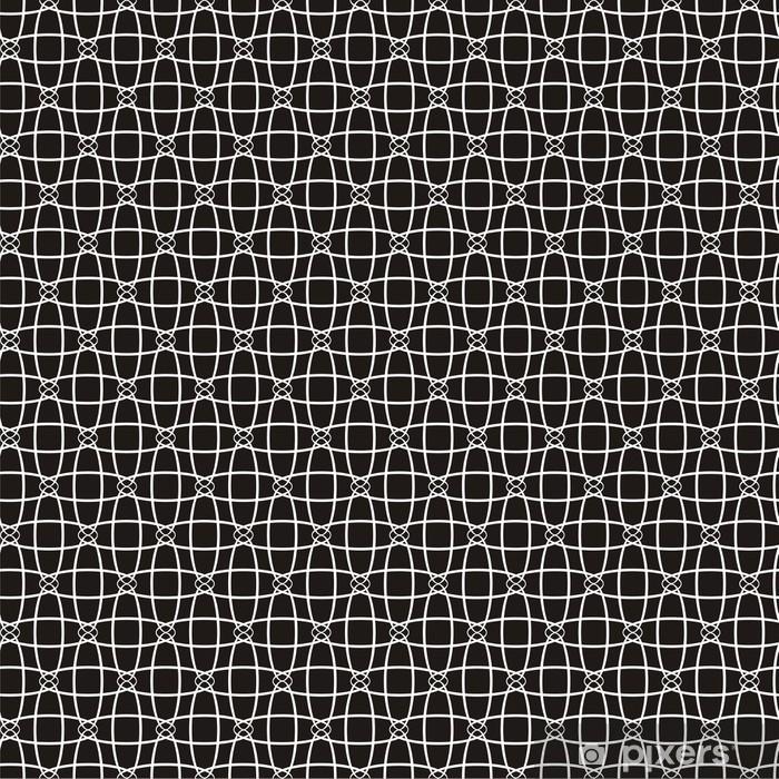 Vector illustration of seamless decorative pattern Pixerstick Sticker - Backgrounds
