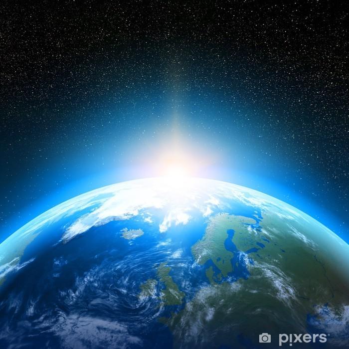 Póster Planeta Tierra vista desde el espacio • Pixers® - Vivimos para  cambiar