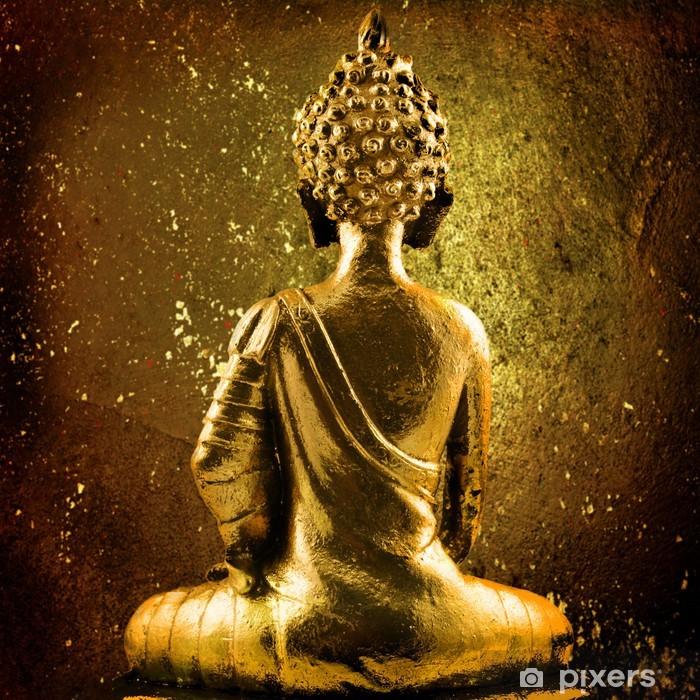 Fotomural Estándar Buda dorado - La religión y la espiritualidad