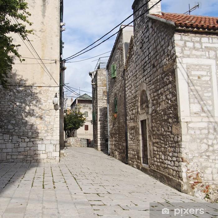Plakat Stare miasto Sibenik - Europa