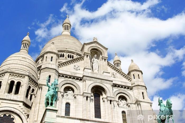 Fototapeta winylowa Bazylika Najświętszego Serca (Bazylika du Sacre-Coeur), Paryż, - Miasta europejskie