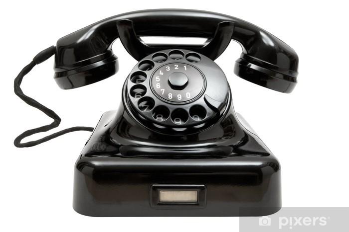 Fototapeta Stary telefon • Pixers® - Żyjemy by zmieniać