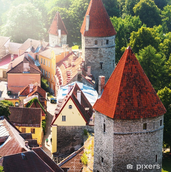 Poster Tallinn - Europe