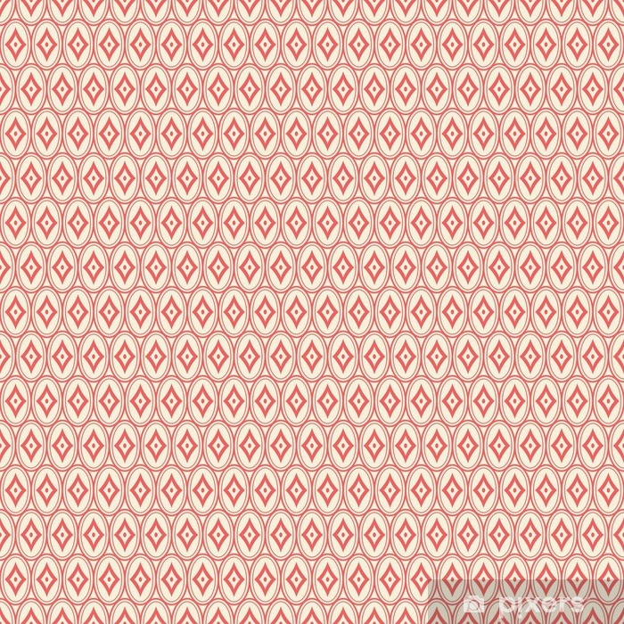 seamless vintage pattern Washable Wall Mural - Themes