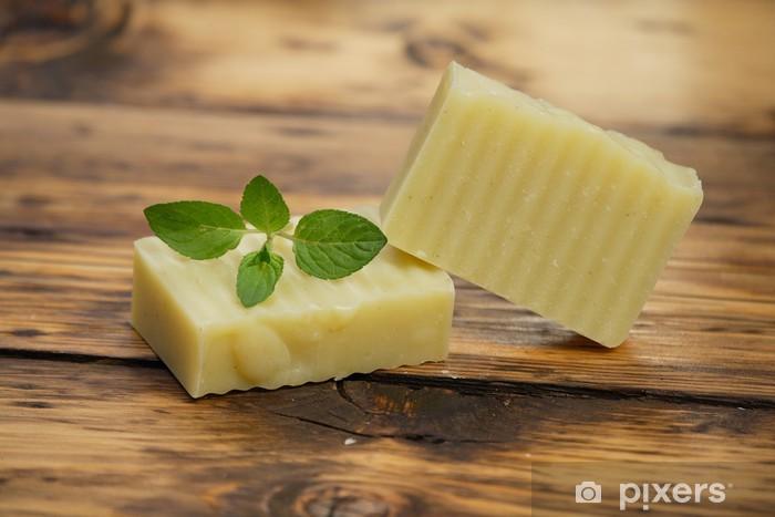 Fototapeta winylowa Homemade Soap - Zdrowie i medycyna