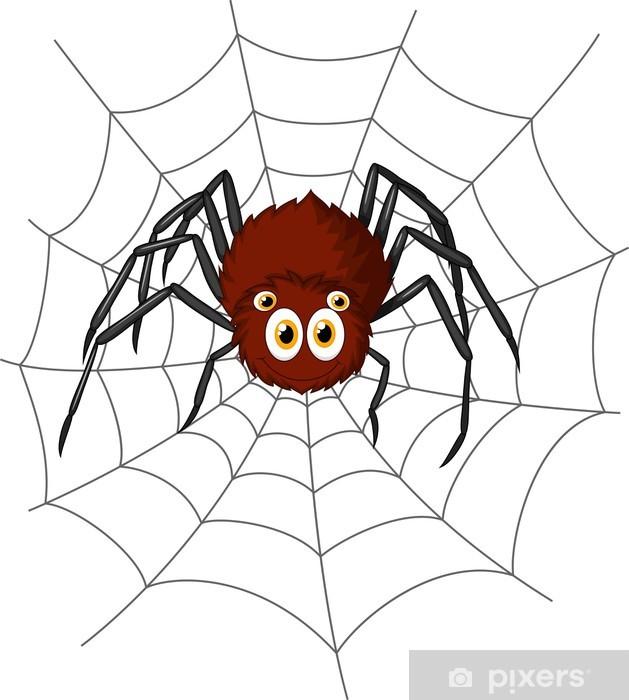 Papier peint vinyle Bande dessinée mignonne d'araignée - Autres Autres