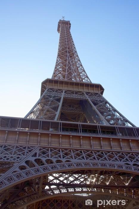 Vinylová fototapeta Eiffelova věž v Paříži - Vinylová fototapeta