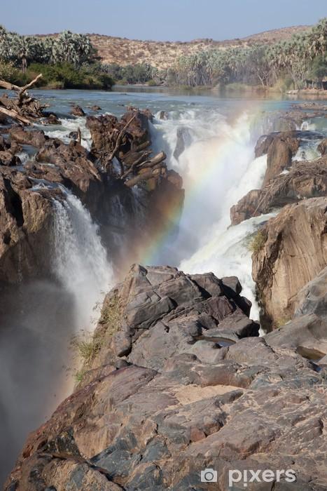 Carta da Parati in Vinile Cascate Epupa - Acqua