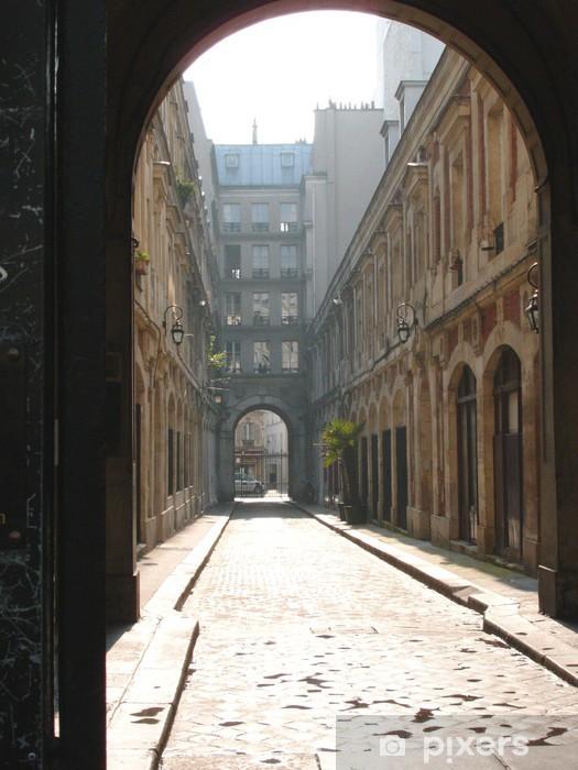 Naklejka Pixerstick Paryska ulica - Inne
