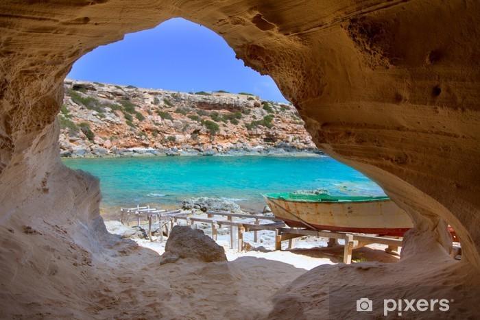 Pixerstick Dekor Formentera Cala en Baster i Balearerna i Spanien - Teman