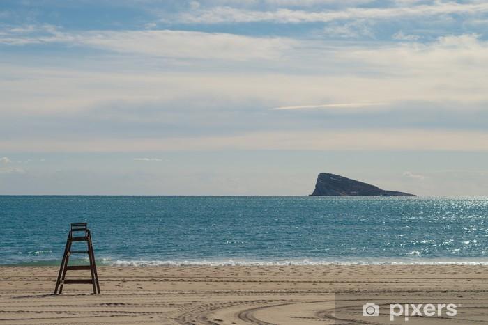 Fototapeta winylowa Plaża Benidorm i wyspa - Europa
