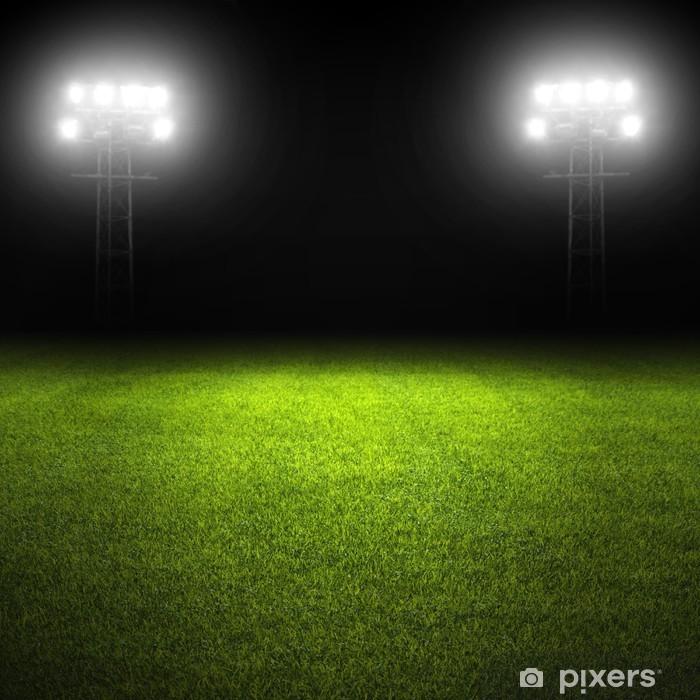 Sticker Pixerstick Soccer field - Arrière plans