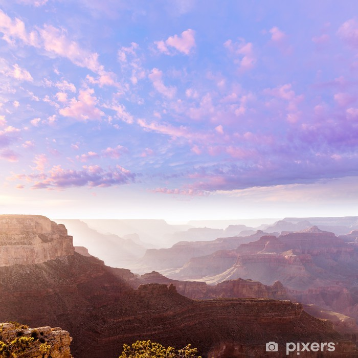 Vinyl-Fototapete Arizona Sonnenuntergang Grand Canyon National Park Yavapai Point - Amerika