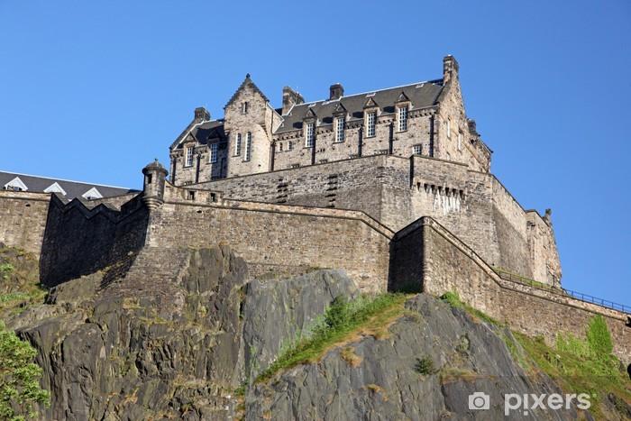 Fototapeta winylowa Edinburgh Castle, Szkocja, Wielka Brytania - Tematy