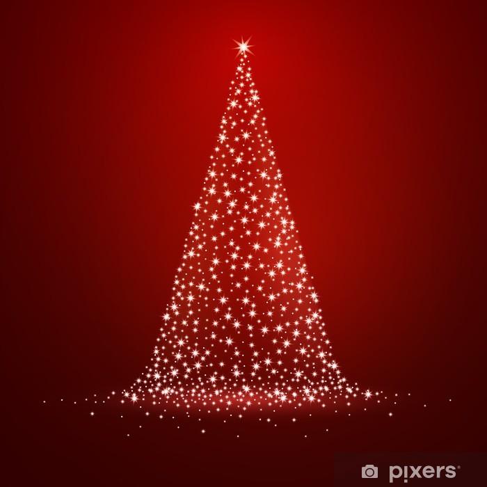 Alberi Di Natale Stilizzati Immagini.Carta Da Parati Illustrazione Vettoriale Di Un Albero Stilizzato Di Natale Pixers Viviamo Per Il Cambiamento
