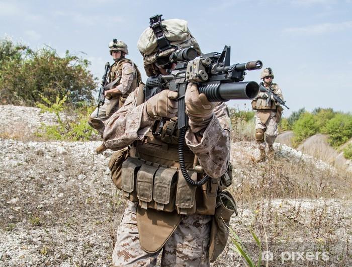 Pixerstick Sticker Militaire operatie - Leger
