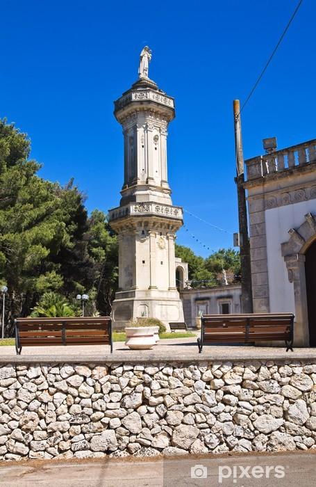 Fototapeta winylowa Sanktuarium Montevergine. Palmariggi. Apulia. Włochy. - Wakacje